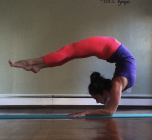 heart opening backbend leigha