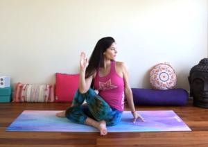 Ardha Matsyendrasana - Third Chakra Yoga Pose, yoga for chakras