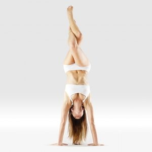handstand, eagle legs