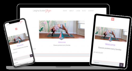 stream vinyasa yoga on All devices: mobile, tablet, desktop, laptopc